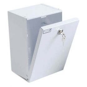Bristol Maid Patients / Residents Own Medication Cabinet - 210 X 155 X 315mm - Bottom Hinged - Electronic Push Button Lock