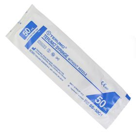 Terumo BS-50CO 50ml Syringe Oral Catheter Tip [Pack of 25]