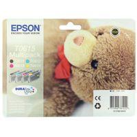 EPSON T0615 BLK CYN MGNTA YLW INKS