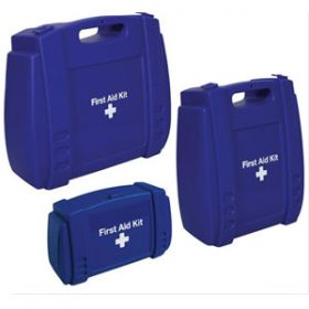 Evolution Blue First Aid Kit Medium Case, Empty