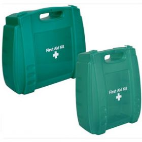 Evolution Translucent Green First Aid Kit Medium Case, Empty