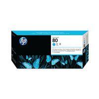 HP 80 DSGNJET PHEAD CART CYAN