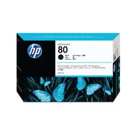 HP 80 BLACK INK CARTRIDGE 350ML