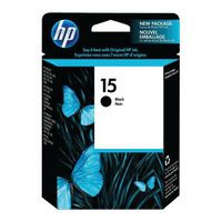 HP 15 BLACK INKJET CARTRIDGE 25ML