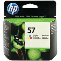 HP 57 INKJET CART TRI-COLOUR 17ML