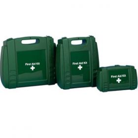 Evolution Green First Aid Small Case, Empty