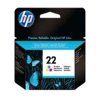 HP 22 INKJET CART TRI-COLOUR 5ML