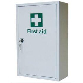 First Aid Metal Cabinet Single Door, Single Depth, Empty