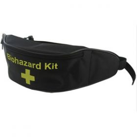 Biohazard Kit Bum Bag (Black), Empty