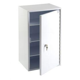 Bristol Maid Controlled Drugs Cabinet - Single Point Locking - 500 X 450 X 850mm - R/H Hinge