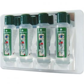 4x500ml Eye Wash Station