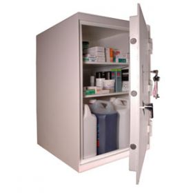Lec CDC470, Floor Mounted, Ambient Steel Controlled Drugs Cabinet