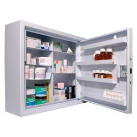 Lec CDC560, Wall Mounted, Ambient Steel Controlled Drugs Cabinet