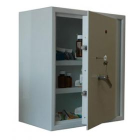 Lec CDC600, Wall Mounted, Ambient Steel Controlled Drugs Cabinet