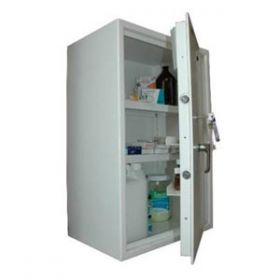 Lec CDC750, Wall Mounted, Ambient Steel Controlled Drugs Cabinet