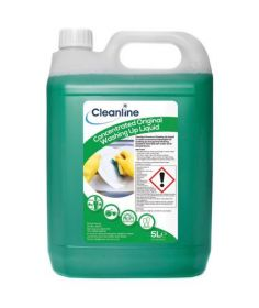 Cleanline Concentrated Washing Up Liquid 5 Litre