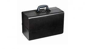 Bollmann Concertina Leatherette Deep Base Case, Black [Pack of 1]