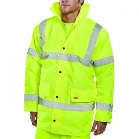 CONSTRUCTOR JACKET YELLOW MED