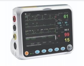 Creative PC-3000 Vital Signs Monitor (SpO2 Analogue, PR, NIBP, Temp) with Adult Soft Sensor
