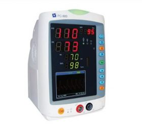 Creative PC-900Pro Vital Signs Monitor (SpO2 (Creative), PR, NIBP & Temp) with Adult Soft Sensor, NIBP Cuff and Temperature Interface Cable