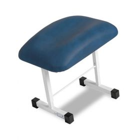 Bristol Maid Leg Rest - Adjustable Angle/Height - Vinyl - Bristol Blue