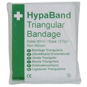 HypaBand Triangular Bandage, Non Woven, Non Sterile (Pack of 6)