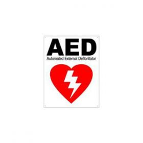 Martek AED Wall Sign