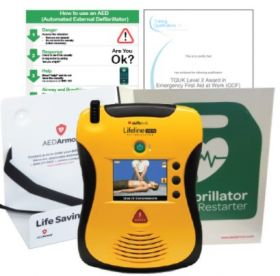 Defibtech Lifeline VIEW Semi Automatic - Exclusive Starter Kit