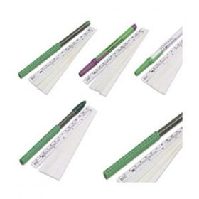 Devon Skin Marker, Dual Tip with Ruler Cap and Flexible Ruler