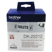 BROTHER QL500/550 WHITE 62MM
