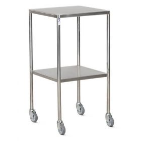 Bristol Maid Option - Room Divider - Dressing Trolley - Stainless Steel - 2 Shelf