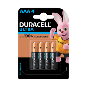 Duracell Alkaline Batteries (AAA) [Pack of 4]