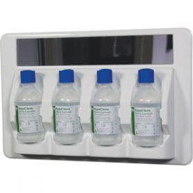 HypaClens 4x250ml Eyewash Station with 4 Eyewash Bottles (250ml)