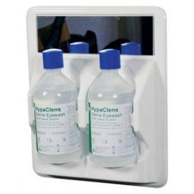 HypaClens 2x500ml Eyewash Station with 2 HypaClens Eyewash Bottles (500ml)