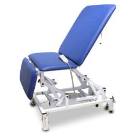 Bristol Maid Chair - Bariatric - Variable Height - Three Section - Electric - Vinyl - Bristol Blue