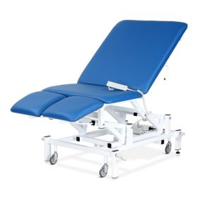 Bristol Maid Chair - Bariatric - Variable Height - Four Section - Electric - Vinyl - Bristol Blue