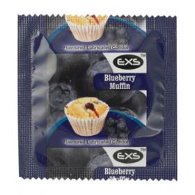 EXS Blueberry Muffin Condom [Pack of 500]