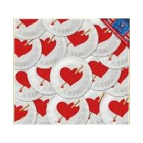 EXS Love Heart Condoms [Pack of 500]