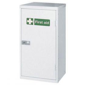 Compact Metal Cabinet Locker, Empty 45.7x30.5x71cm