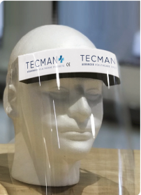 Disposable Face Shield Tecman (Pack of 1)