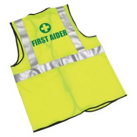 First Aider Hi-Visibility Waistcoats