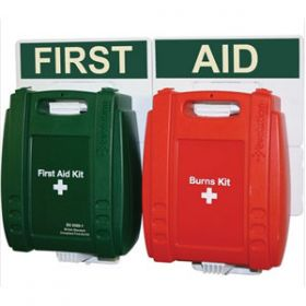 Small Catering First Aid Point, Green Case
