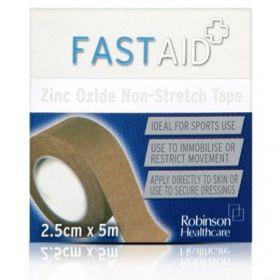 FastAid Zinc Oxide Plaster 2.5cm x 3m [Each]