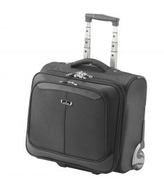 "15.6"" Mobile Laptop / Tablet Business Trolley Case; FI2567T; Black"