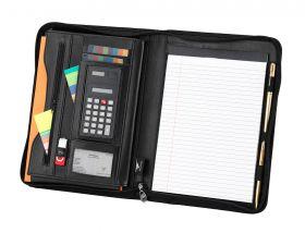 A4 Conference Folder; FI6521; Black