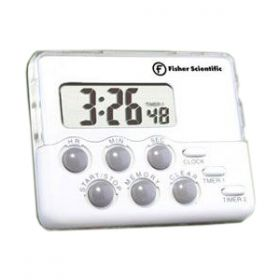 Fisher Timer Traceable Counts Up /Down With Alarm 60mm x 50mm