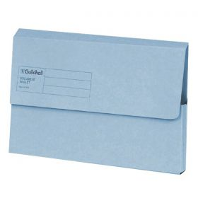 GUILDHALL DOC WALLET BLUE ANGEL BLUE