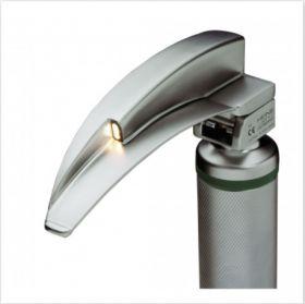 HEINE Classic+ Fibre Optic Laryngoscope Blade, Autoclavable, Mac 3m (Stronger Curve)