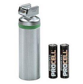 Heine Short Laryngoscope F.O. 2.5v Handle for 2 x AA batteries, complete