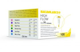 High Flow (Yellow) - 100 [Pack of 1]